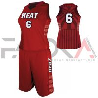 Red Basketball Uniform