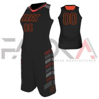 Black Basketball Uniform