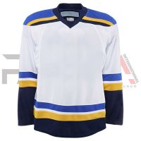 White Ice Hockey Jersey