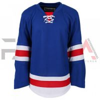 Blue Red Ice Hockey Jersey