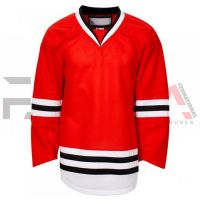 Red Ice Hockey Jersey