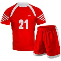 Red Volleyball Uniform
