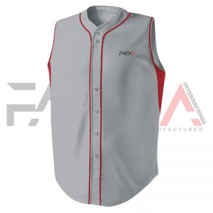 Sleeveless Baseball Jersey